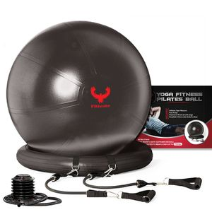 Yoga ball with resistance bands for Sale in Long Beach, CA