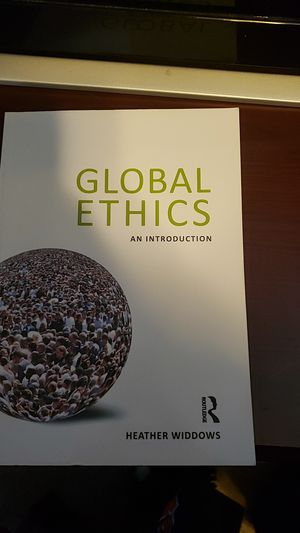 Global Ethics An Introduction for Sale in Stockbridge, GA