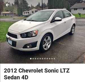 2012 chevy sonic Ltz sedan 4D for Sale in Beaverton, OR