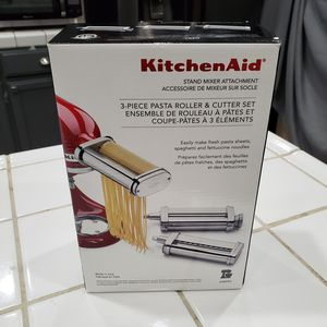 Kitchen Aid 3 piece pasta roller set...BRAND NEW!! for Sale in Ceres, CA
