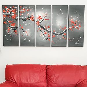 Wall Art 5 Piece canvas for Sale in Hollywood, FL