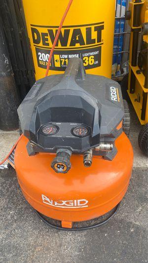Ridgid air compressor used for Sale in Garden Grove, CA