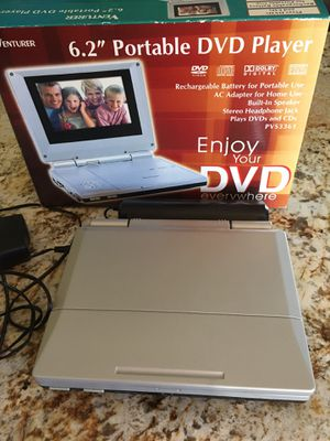 "6.2"" portable DVD player for Sale in California City, CA"