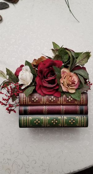 Hollow Books - 3 Book Flower Pot + War & Peace for Sale in Orange, CA