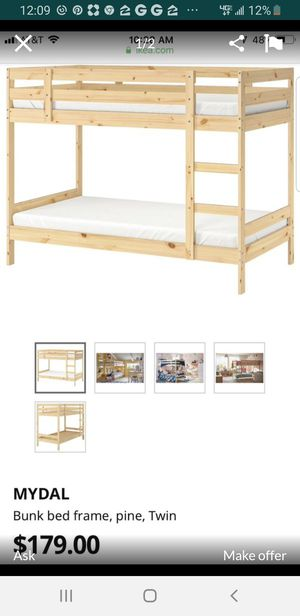 Bunk bed frame for Sale in Buckeye, AZ