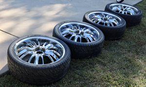 💵💰 22 Inch Rims 265/35 R22 Tires Kumo Ecsta stx/ Lexani Lx9 for Sale in Fredericksburg, VA