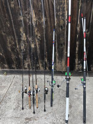 Fresh and salt water fishing combo for Sale in Martinez, CA