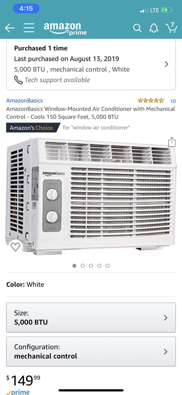 A/C window unit
