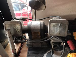 Craftsman bench grinder - big 1/2 HP motor for Sale in El Cajon, CA