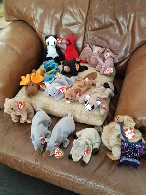 "Beanie Baby (15 Babies WITH TAGS) by: ty ""Includes one of the orginal 9"" for Sale in Orlando, FL"