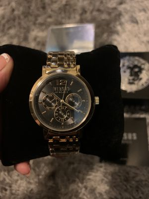 Women's Gold Versace Watch for Sale in Bellflower, CA