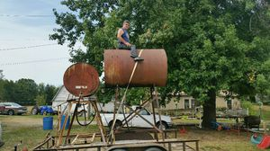 Fuel tank on stand for Sale in US