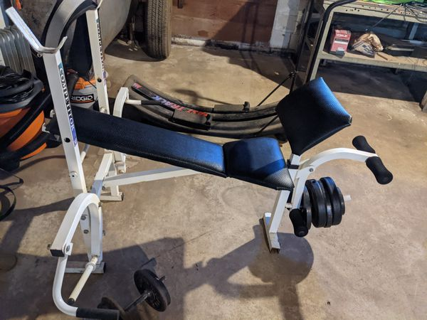 MUST GO!! Freemotion 530 Eliptical & Weight bench & various other exercise equip. Make an offer today!;