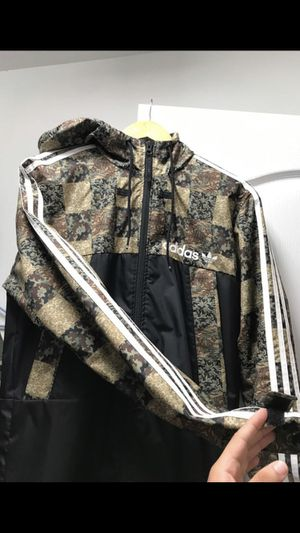 Adidas jacket BOUGHT FOR $100 JUST LIKE NEW for Sale in Winter Garden, FL
