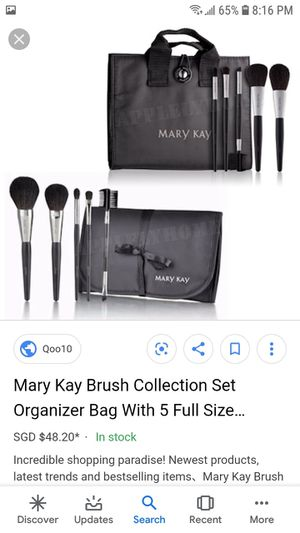 Brush set with bag for Sale in Las Vegas, NV