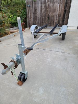 FE trailers single galvanized jetski small boat trailer for Sale in Santee, CA