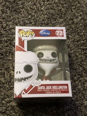 Funko Pop Santa Jack Skellington Nightmare Before Christmas NBC for Sale in Fresno, CA