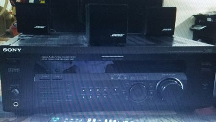 Bose 5.1 Surround System with Bass Subwoofer and a Sony AM/FM Power Amplifier for Sale in Cape Coral,  FL