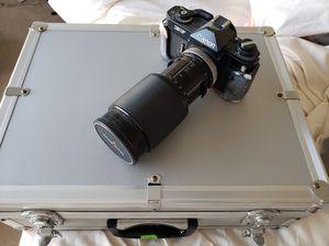 Canon EF film camera, lenses, and accessories for Sale in San Francisco, CA