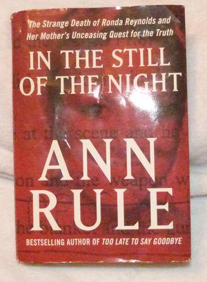 Ann Rule True Crime Hardback for Sale in Ripley, WV