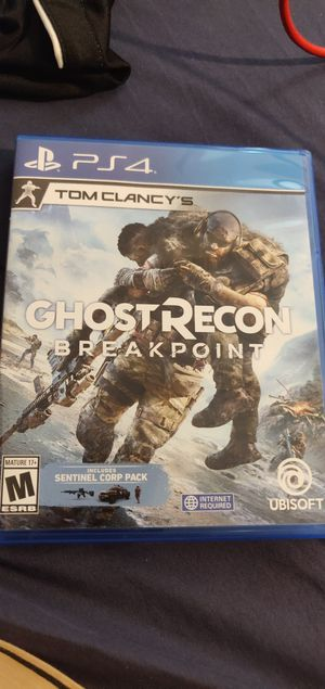 Ghost Recon Breakpoint for PS4 for Sale in Baldwin Park, CA