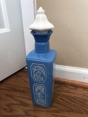 1965 Vintage Jim Beam Blue And White Decanter Shepherd Boy Bottle for Sale in Franklin, TN