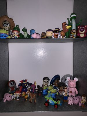 Vintage Disney Pixar toys & collectibles toy story coco monsters inc for Sale in Placentia, CA