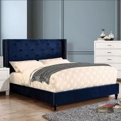 BRAND NEW BED FRAME QUEEN COMES IN BOX 📢📦MATTRESS INCLUDED 📢✨😴SAME DAY DELIVER OR PICK UP 📢 for Sale in Carson,  CA