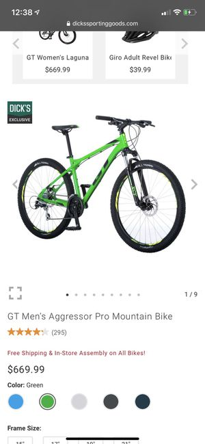Gt Mountain Bike for Sale in Holland, PA