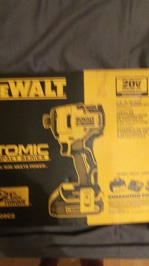 Dewalt 1 4 inch impact driver kit for Sale in Deerfield Beach, FL