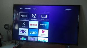 55 inch TCL Roku TV for Sale in Littleton, CO