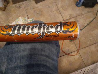 Wicked 10 Oz. Little League Approved Bsbe Rurh Baseball Bat for Sale in Salt Lake City,  UT