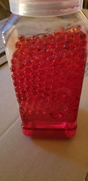 Water jewel bead red for centerpieces for Sale in Austin, TX