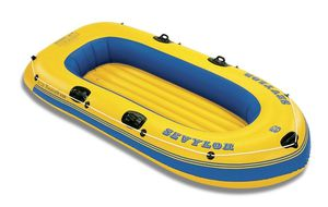 Inflatable boat with oars for Sale in Wallingford, CT