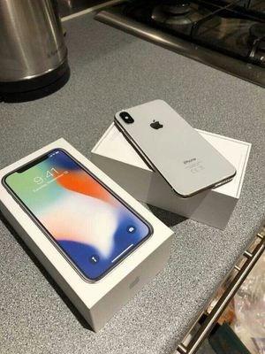 iPhone X Silver Brand New Unlocked for Sale in Sugar Land, TX