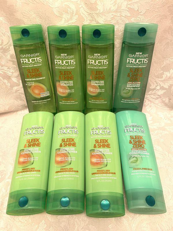 10 Garnier Fructis Shampoo and Conditioner 12 fl.oz