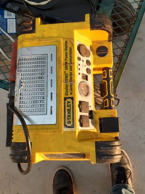 Stanley Portable Power Station. Jump-Starter/Compressor/Power Supply for Sale in Leander, TX