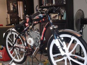 Brand new, totally custom, really fast motor-bicycle for Sale in Lafayette, LA