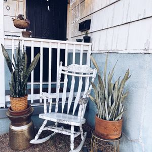 Farmhouse Wood Rocking Chair for Sale in San Diego, CA