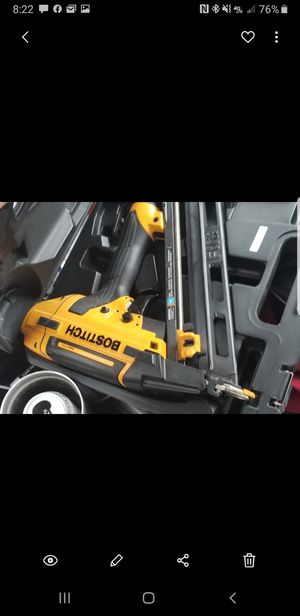 Bostitch 15 gauge nail gun for Sale in Frederick, MD