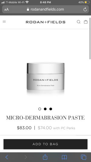 RODAN AND FIELDS MICRODERMABRASION PASTE for Sale in Orlando, FL