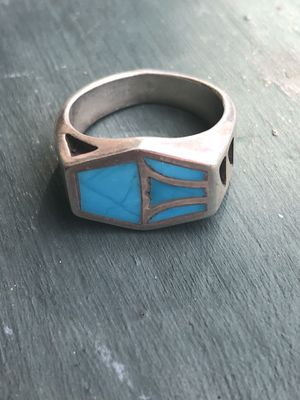 Native American Sterling Silver Turquoise Rings for Sale in Tampa, FL