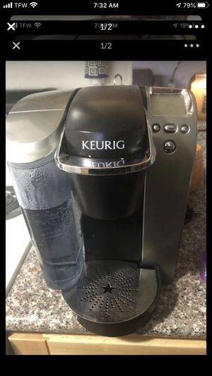 Keurig and 4 reusable k cups for Sale in Springfield, OR