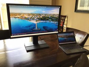 Computer monitor Acer wide screen with speakers LED LCD for Sale in Lincoln, CA