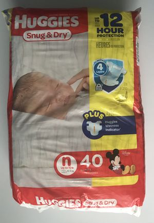 HUGGIES Newborn Diapers for Sale in Charlotte, NC