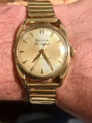 Bulova 23j self winding watch, mid 50s for Sale in Little Rock, AR