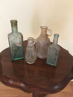 Antique glass bottles for Sale in Kent, WA