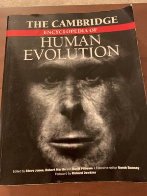 The Cambridge Encyclopedia Of Human Evolution for Sale in Roanoke, VA