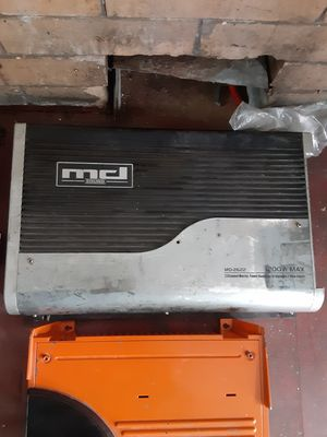 Md sound 1200.2 powerful amp for Sale in Philadelphia, PA