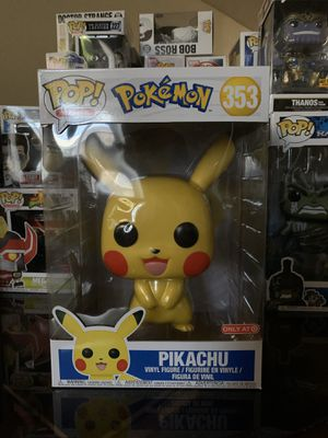 Funko Pop! Pikachu 10 inch for Sale in Irving, TX